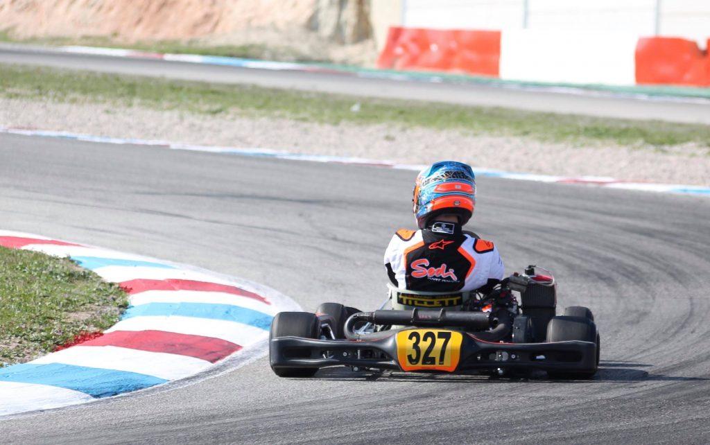 Bradley BARRET in the Sodi Sigma RS3